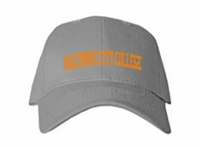 Baltimore City College High School Kid Embroidered Baseball Caps