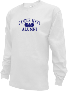 Bangor West Elementary School Long Sleeve Shirts