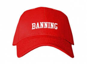 Banning High School Kid Embroidered Baseball Caps