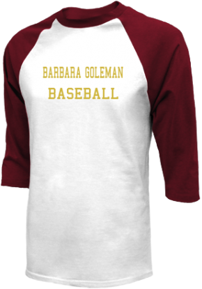 Barbara Goleman High School Raglan Shirts