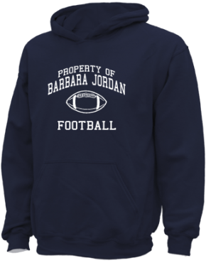 Barbara Jordan High School Kid Hooded Sweatshirts