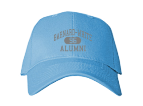 Barnard-white Middle School Embroidered Baseball Caps