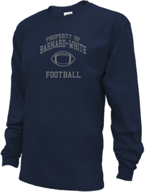 Barnard-white Middle School Kid Long Sleeve Shirts