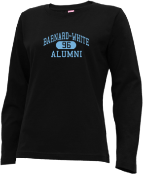 Barnard-white Middle School Long Sleeve Shirts