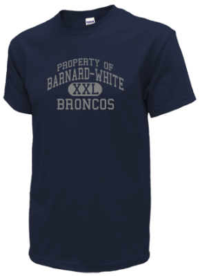 Barnard-white Middle School Kid T-Shirts