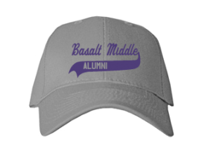 Basalt Middle School Embroidered Baseball Caps