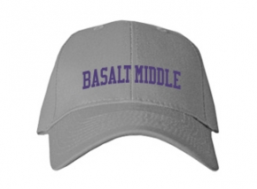 Basalt Middle School Kid Embroidered Baseball Caps
