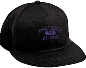 Basalt Middle School Flat Visor Caps