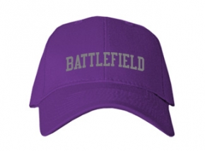 Battlefield High School Kid Embroidered Baseball Caps