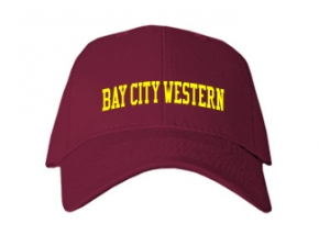 Bay City Western High School Kid Embroidered Baseball Caps