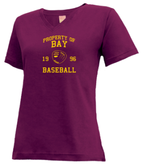 Bay High School V-neck Shirts