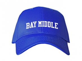 Bay Middle School Kid Embroidered Baseball Caps