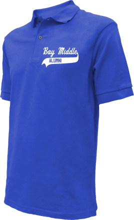 Bay Middle School Embroidered Polo Shirts