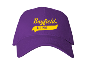 Bayfield Middle School Embroidered Baseball Caps