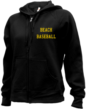 Beach High School Zip-up Hoodies