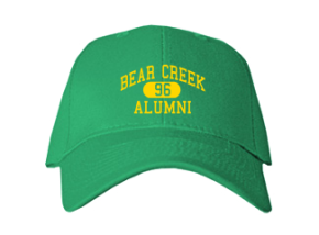 Bear Creek School Embroidered Baseball Caps