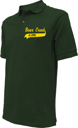 Bear Creek School Embroidered Polo Shirts