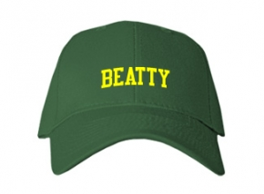 Beatty Middle School Kid Embroidered Baseball Caps