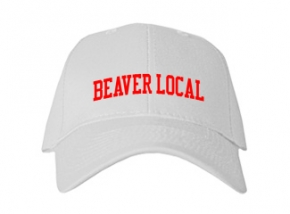 Beaver Local High School Kid Embroidered Baseball Caps