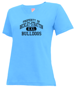 Beckley-stratton Junior High School V-neck Shirts