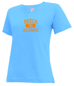 Beech High School V-neck Shirts