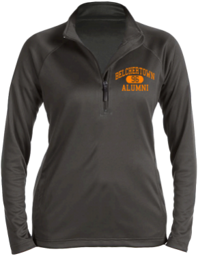 Belchertown High School Stretch Tech-Shell Compass Quarter Zip