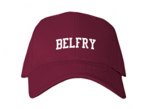 Belfry High School Kid Embroidered Baseball Caps