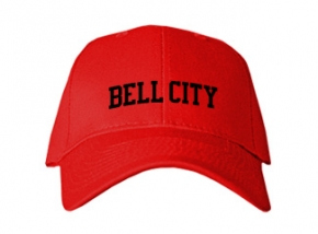 Bell City High School Kid Embroidered Baseball Caps