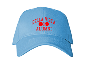 Bella Vista Elementary School Embroidered Baseball Caps