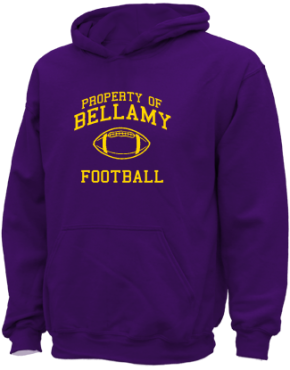Bellamy Middle School Kid Hooded Sweatshirts
