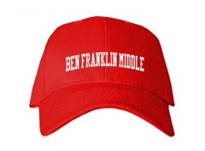 Ben Franklin Middle School Kid Embroidered Baseball Caps
