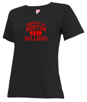 Benton Elementary School V-neck Shirts