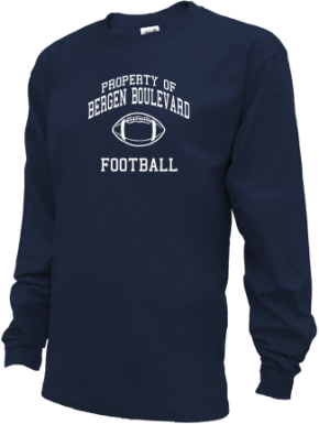 Bergen Boulevard School Kid Long Sleeve Shirts