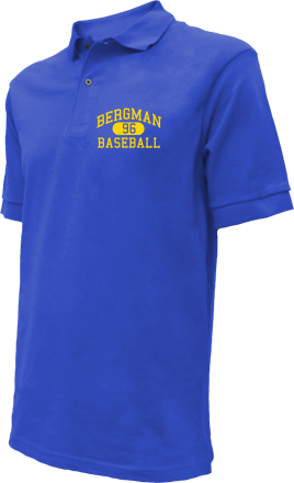 Bergman High School Embroidered Polo Shirts