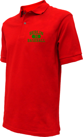 Berlin High School Embroidered Polo Shirts