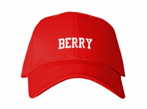 Berry High School Kid Embroidered Baseball Caps