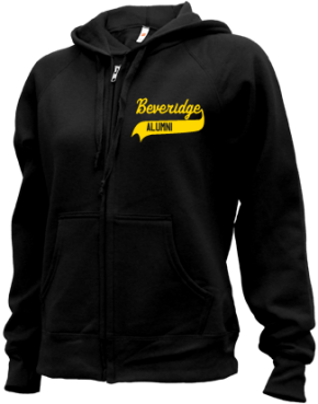 Beveridge Junior High School Zip-up Hoodies