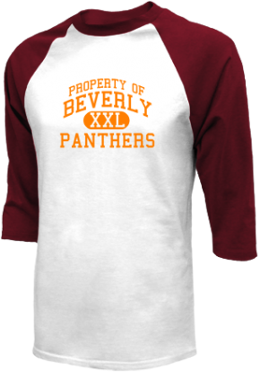 Beverly High School Raglan Shirts