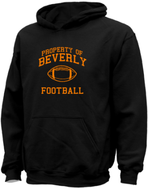 Beverly High School Kid Hooded Sweatshirts