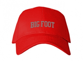 Big Foot High School Kid Embroidered Baseball Caps