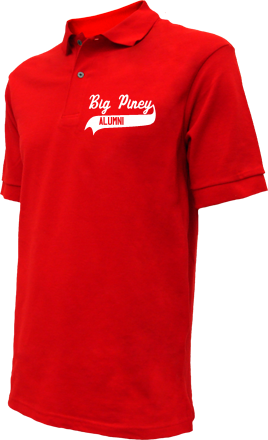 Big Piney Middle School Embroidered Polo Shirts