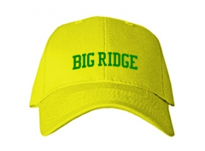 Big Ridge Elementary School Kid Embroidered Baseball Caps
