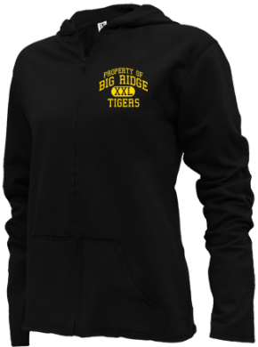 Big Ridge Elementary School Girls Zipper Hoodies