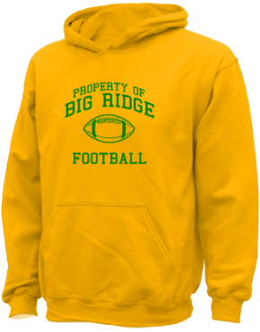 Big Ridge Elementary School Kid Hooded Sweatshirts