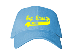 Big Shanty Elementary School Embroidered Baseball Caps