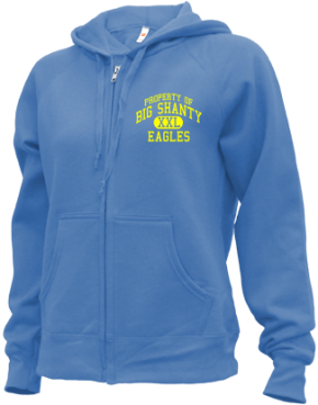 Big Shanty Elementary School Zip-up Hoodies