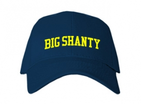 Big Shanty Elementary School Kid Embroidered Baseball Caps