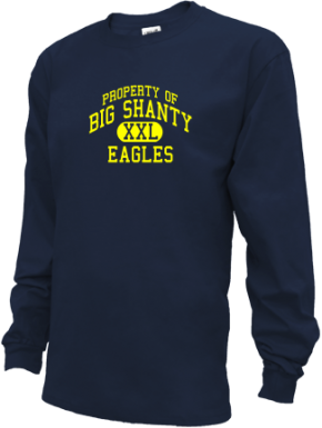 Big Shanty Elementary School Kid Long Sleeve Shirts