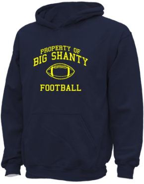 Big Shanty Elementary School Kid Hooded Sweatshirts
