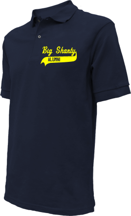 Big Shanty Elementary School Embroidered Polo Shirts